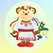 Az ukrán ruha majom