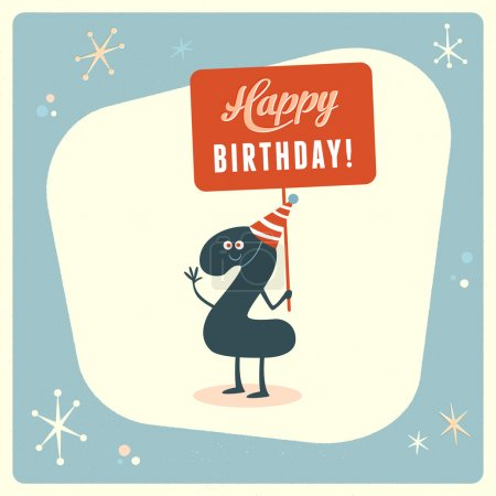 Funny 2nd birthday Card