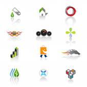 Set of original web icons