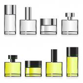 Fragrance container templates