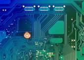 Számítógép alaplap áramköri háttér