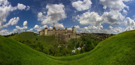 Ancient fortress in kamianets-podilskyi