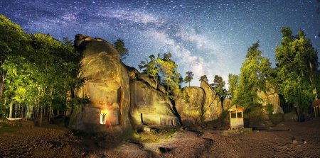 Rocks Dobush night