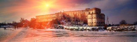 ancient Medzhybizh Castle