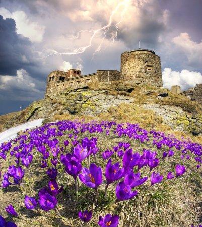 old observatory On Montenegrin Ridge