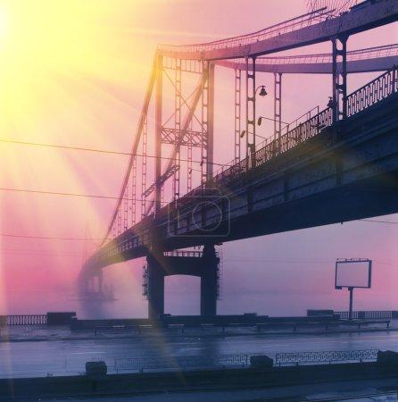 Footbridge on Trukhanov Island