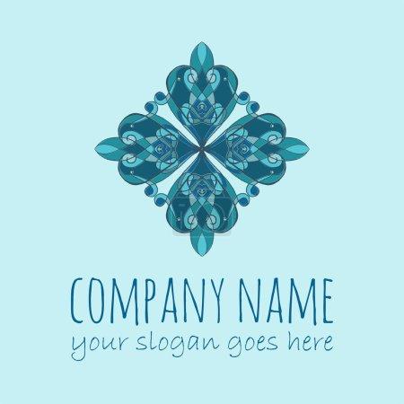 Logo for boutique, interior. Company logo, mark, emblem, elemen