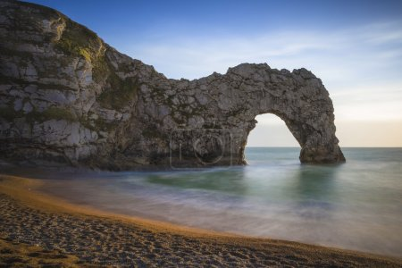 The famous arch of Durdle Door, Lulworth, UK