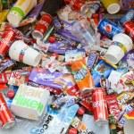 KHARKOV, UKRAINE - APRIL 8, 2020: Many wrappings a...
