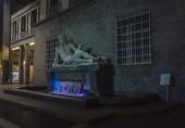 Po and Dora Statues in the centre of Turin