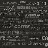 coffee seamless background file masked and layered
