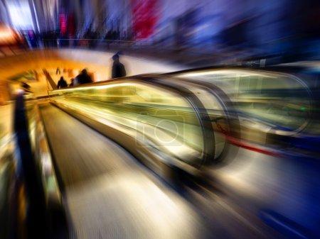 Photo pour Vitesse du citadin - concept - image libre de droit