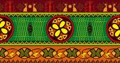 Bezešvé elegantní dekorativní vzor. Afrika etnické umění téma