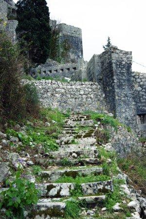 Steps in fortifications in Kotor