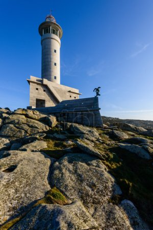 Punta Nariga lighthouse in Spain