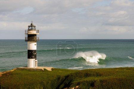 Illa Pancha lighthouse, Spain
