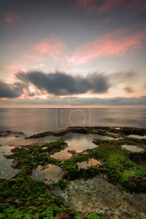 Photo for Cabo Cervera coast in Spain at sunset with dramatic sky - Royalty Free Image