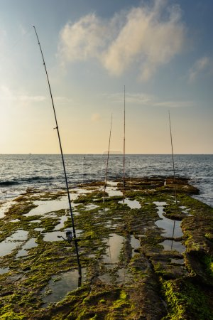 Fishing at Cabo Cervera  in Spain