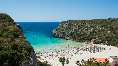Cala en Porter beach in Spain