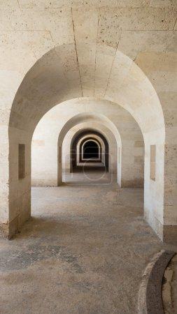 La Mola castle in Spain