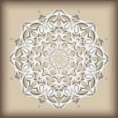 Mandala vintage pattern hand drawn abstract decorative ornament Can be used for banner invitation wedding card greeting card and others Royal vector design element Islamic Arabic Indian Ottoman motifs