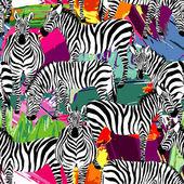 zebra black and white pattern painting background