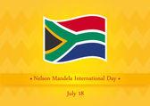 Nelson Mandela International Day vector