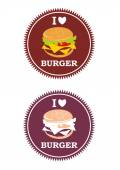 Juicy logo Logo for restaurant Fast Food Home made Kitchen Vector logo Round food logo Burger icon Food icons Logo image Burger logo