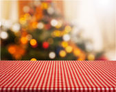 "Постер, картина, фотообои ""christmas table background"""