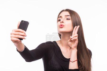 Selfie, Beautiful girl taken pictures of her self,