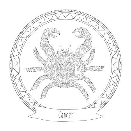 Horoscope symbol cancer
