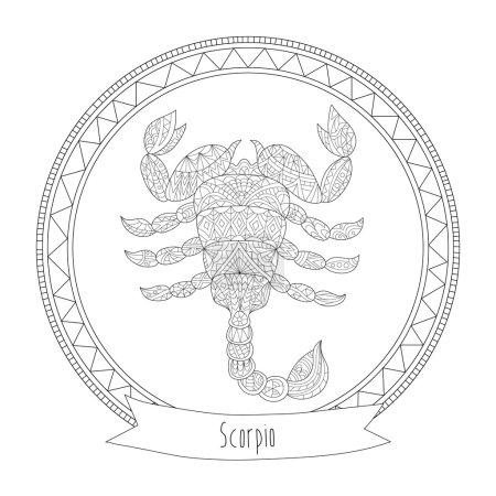Horoscope symbol scorpio