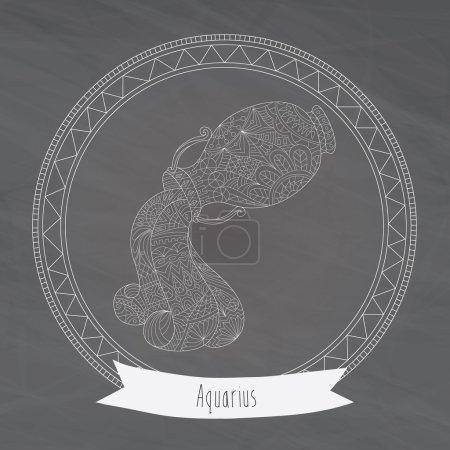 Horoscope symbol aquarius