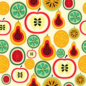 Vegetarian colorful pattern