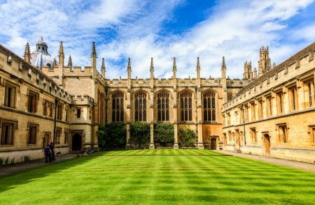 Buildings of Oxford University seen from the Churc...
