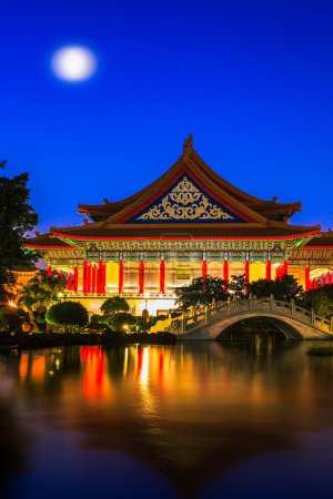 National Theater and Guanghua Ponds, Taipei, Taiwan