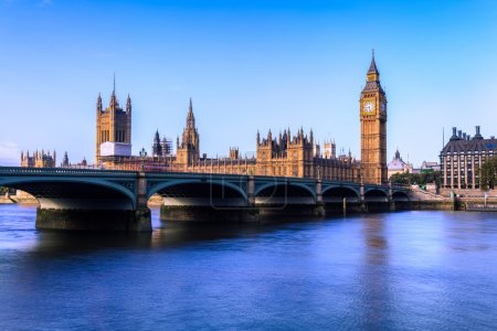 Photo pour Maisons du Parlement, Westminster, London, Uk - image libre de droit