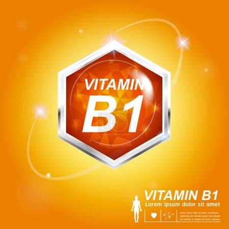 Vitamin Nutrition icon Label Concept