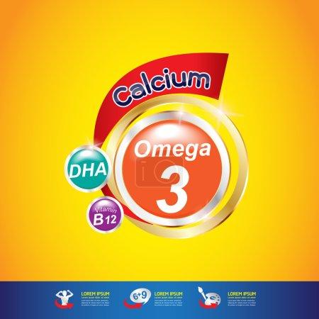 Omega Calcium and  Vitamins