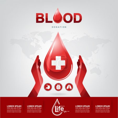 Blood Donation  Concept