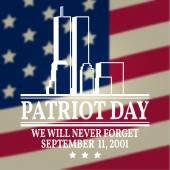 Patriot Day vintage design