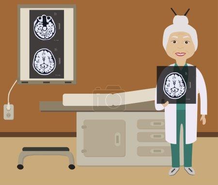 Diagnosis of brain picture