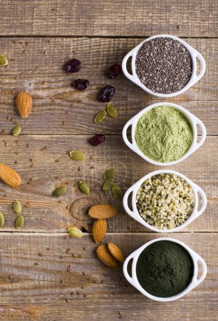 Superfoods, your body, your health.