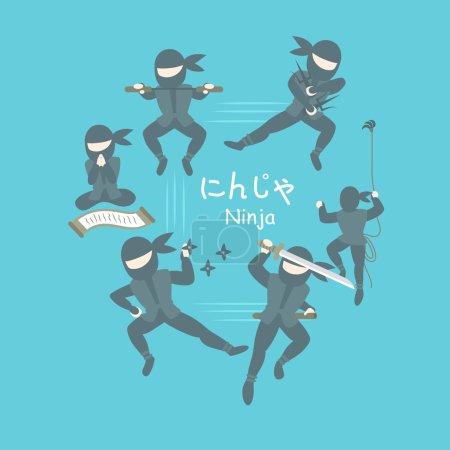 ninja assassins in Japan