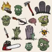 The zombie apocalypse set
