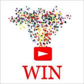 Win background vector