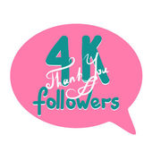 Thank you for network friends and followers Thank you followers hand draw Image for Social Networks Original hand draw thank you