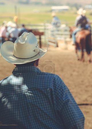 Man at a rodeo.