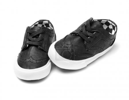 Kid shoes on white