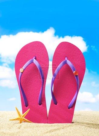 Flip-flops and sunglasses